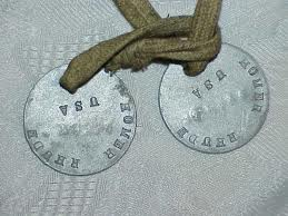 ww1 dog tags